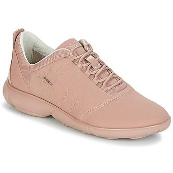 kengät Naiset Matalavartiset tennarit Geox NEBULA Pinkki
