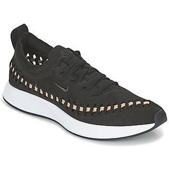 kengät Naiset Matalavartiset tennarit Nike DUALTONE RACER WOVEN W Black