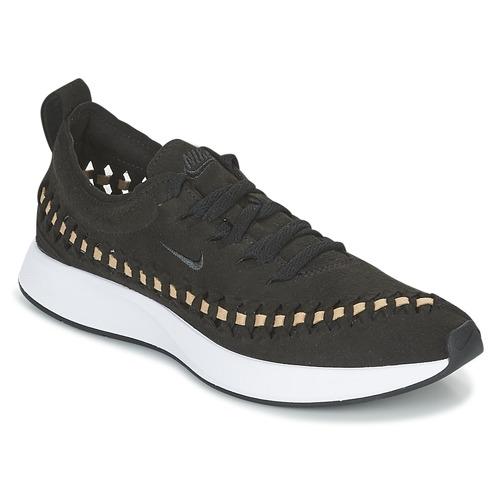 sale retailer e9a2f b9d5e kengät Naiset Matalavartiset tennarit Nike DUALTONE RACER WOVEN W Black