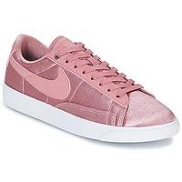 kengät Naiset Matalavartiset tennarit Nike BLAZER LOW SE W Pink