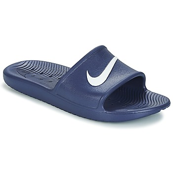 kengät Miehet Rantasandaalit Nike KAWA SHOWER SLIDE Blue / White