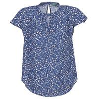 vaatteet Naiset Topit / Puserot Benetton TOULEOK Blue / White