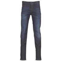 vaatteet Miehet Slim-farkut Sisley FLAGADU Blue / Fonce