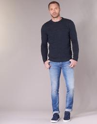 vaatteet Miehet Slim-farkut Sisley BURLUDU Blue