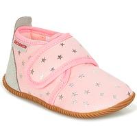 kengät Tytöt Tossut Giesswein SALSACH Pink