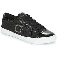 kengät Naiset Matalavartiset tennarit Guess ELLY Black