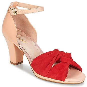 kengät Naiset Sandaalit ja avokkaat Miss L'Fire EVIE Red / Pink