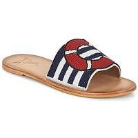 kengät Naiset Sandaalit Miss L'Fire ALL ABOARD Laivastonsininen