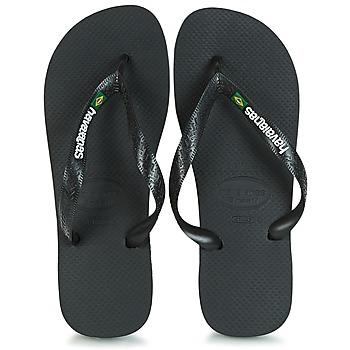kengät Varvassandaalit Havaianas BRAZIL LOGO Black