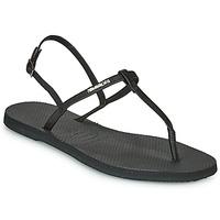 kengät Naiset Sandaalit ja avokkaat Havaianas YOU RIVIERA Musta