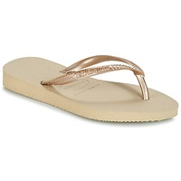 kengät Tytöt Varvassandaalit Havaianas SLIM Beige