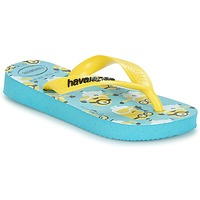 kengät Pojat Varvassandaalit Havaianas MINIONS Blue / Yellow