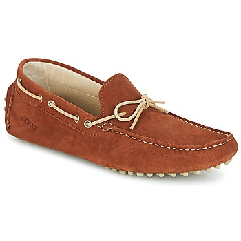 kengät Miehet Mokkasiinit Kost TAPALO Camel