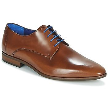 kengät Miehet Derby-kengät Azzaro VALMI Cognac