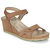 kengät Naiset Sandaalit ja avokkaat Panama Jack JULIA Ruskea