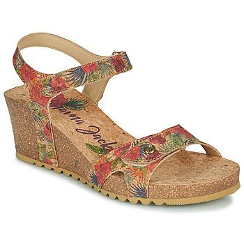 kengät Naiset Sandaalit ja avokkaat Panama Jack JULIA Beige