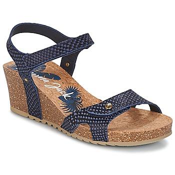 kengät Naiset Sandaalit ja avokkaat Panama Jack JULIA Laivastonsininen