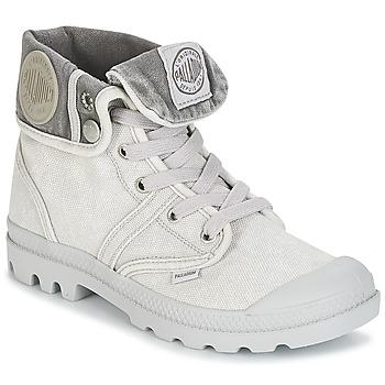 kengät Naiset Bootsit Palladium US BAGGY Grey / Metallinen