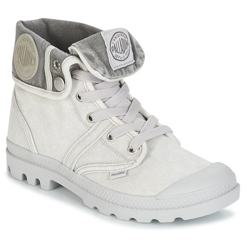 kengät Naiset Bootsit Palladium US BAGGY Harmaa / Metallinen