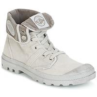 kengät Miehet Bootsit Palladium US BAGGY Metallinen