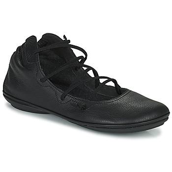 kengät Naiset Balleriinat Camper RIGHT NINA Musta