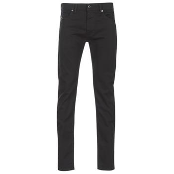 vaatteet Miehet Slim-farkut Diesel THOMMER Black