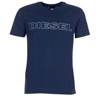 vaatteet Miehet Lyhythihainen t-paita Diesel JAKE Laivastonsininen