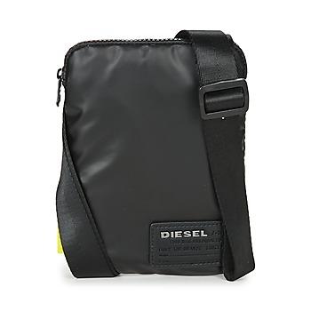 laukut Miehet Pikkulaukut Diesel DISCOVER SMALLCROSS Black