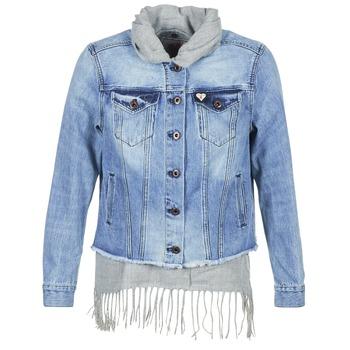 vaatteet Naiset Farkkutakki Maison Scotch XAOUDE Blue / Clair / Grey