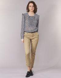 vaatteet Naiset Chino-housut / Porkkanahousut Maison Scotch BEIBEO Beige