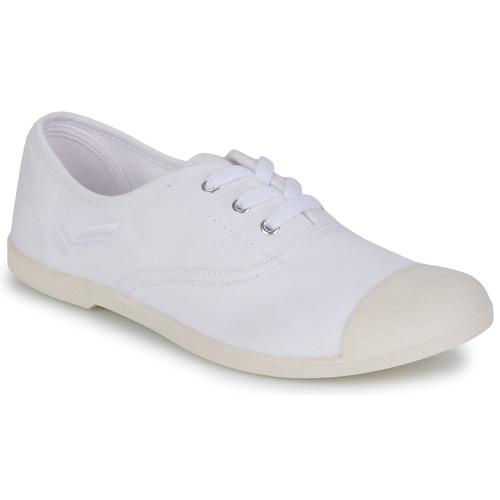 kengät Naiset Matalavartiset tennarit Kaporal FILY White