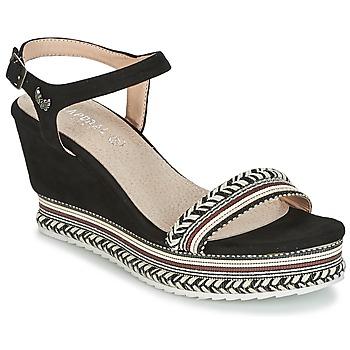 kengät Naiset Sandaalit ja avokkaat Kaporal SLYDE Black