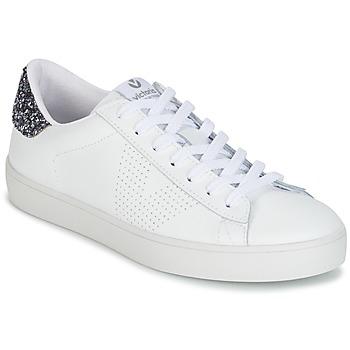 kengät Naiset Matalavartiset tennarit Victoria DEPORTIVO PIEL White