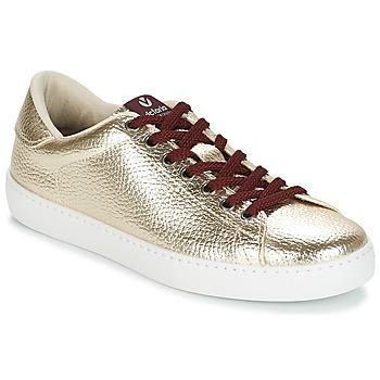 kengät Naiset Matalavartiset tennarit Victoria DEPORTIVO METALIZADO Kulta