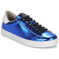 kengät Naiset Matalavartiset tennarit Victoria DEPORTIVO METALIZADO Blue