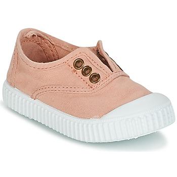 kengät Tytöt Matalavartiset tennarit Victoria INGLESA LONA TINTADA Pink