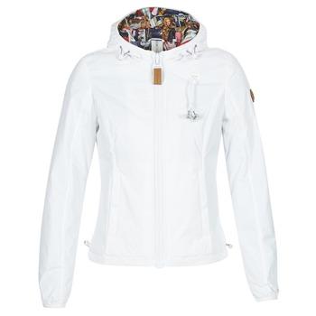 vaatteet Naiset Tuulitakit 80DB Original KALIX Valkoinen