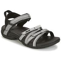 kengät Naiset Sandaalit ja avokkaat Teva TIRRA Black / White
