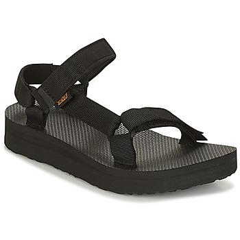 kengät Naiset Sandaalit ja avokkaat Teva MIDFORM UNIVERSAL Black