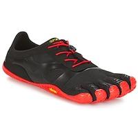 kengät Miehet Juoksukengät / Trail-kengät Vibram Fivefingers KSO EVO Black / Red
