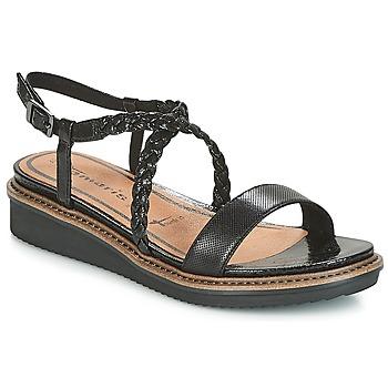 kengät Naiset Sandaalit ja avokkaat Tamaris GACAPIN Black