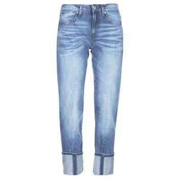 vaatteet Naiset 3/4 & 7/8-pituiset farkut G-Star Raw LANC 3D HIGH STRAIGHT Sininen