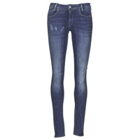 vaatteet Naiset Skinny-farkut G-Star Raw D-STAQ 5 PKT MID SKINNY Sininen