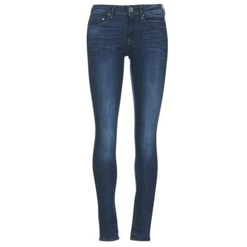 vaatteet Naiset Skinny-farkut G-Star Raw MIDGE ZIP MID SKINNY Blue