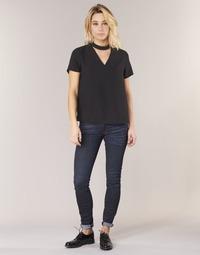 vaatteet Naiset Skinny-farkut G-Star Raw 5622 MID SKINNY Sininen