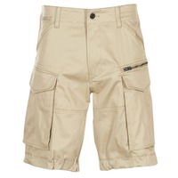 vaatteet Miehet Shortsit / Bermuda-shortsit G-Star Raw ROVIC ZIP LOOSE 1/2 Beige