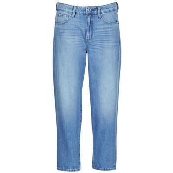 vaatteet Naiset Boyfriend-farkut G-Star Raw 3301 HIGH BOYFRIEND 7/8 WMN Sininen