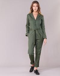 vaatteet Naiset Jumpsuits / Haalarit G-Star Raw DELINE JUMPSUIT WMN L/S Kaki