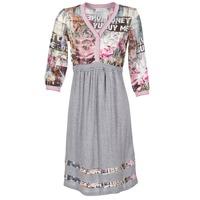 vaatteet Naiset Lyhyt mekko Cream ZAIROCE Grey