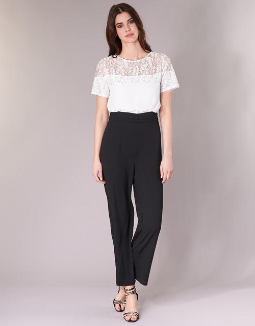 vaatteet Naiset Jumpsuits / Haalarit Molly Bracken YURITOE Black / White